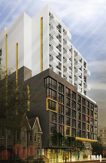 13 Storey Building Condo at Augusta Ave & Richmond